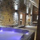 Hot tub under the veranda